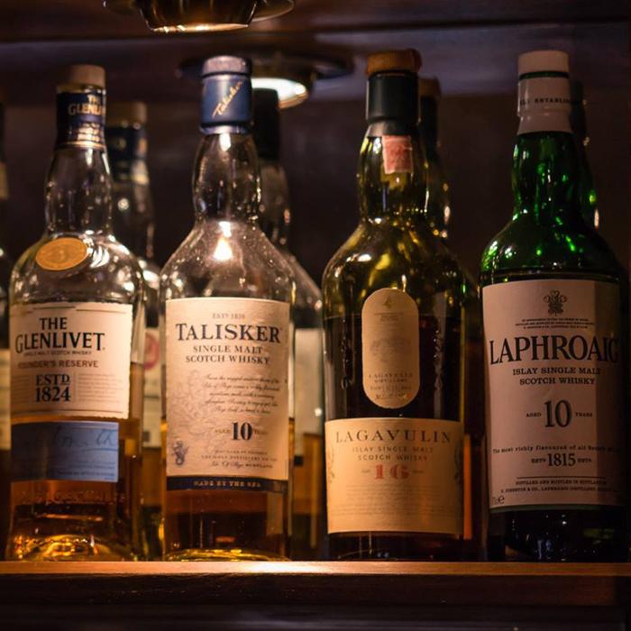 Single malt whiskey peak district